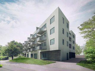 Apartment building, Hloubětín