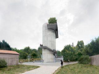 Blanka tunnel tower